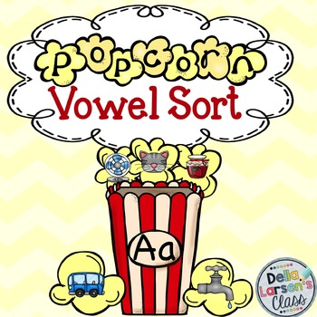 Popcorn Vowel Sort Center