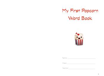 Popcorn Word Book