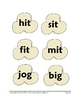 Popcorn Word Work: Sight Words, CVC, CCVC,CVCC, worksheets