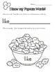 Popcorn Words Literacy Activities Set Two