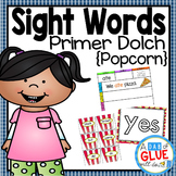 Sight Word Activities, Centers, and Word Wall: Dolch Prime
