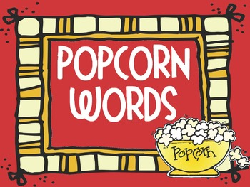 Popcorn Words Review
