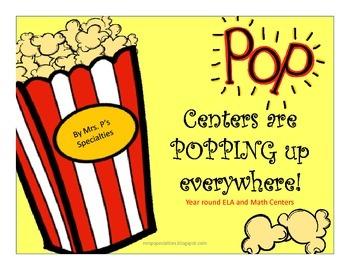 Popcorn Year Round ELA & Math Centers