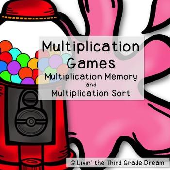 Poppin' Multiplication Games