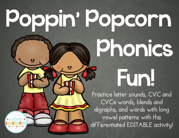 Poppin Popcorn Phonics Fun!