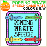 Popping Pirate Speech {Articulation Sword Mats Game Companion}