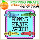 Popping Pirate Speech {Articulation Sword Mats Game Companion}