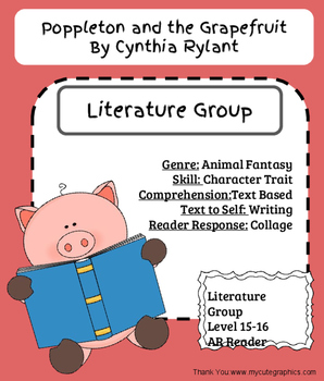 Poppleton and the Grapefruit- Literature Group