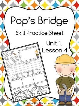 Pop's Bridge (Skill Practice Sheet)
