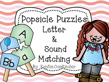 Popsicle Puzzles: Letter & Sound Matching