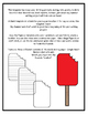 Popsicle Shaped Writing Template