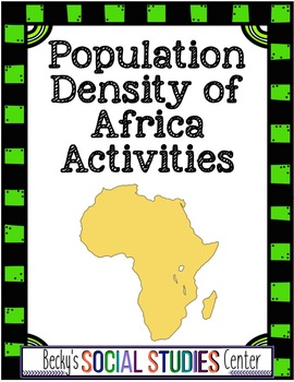 Population Density and Geography of Africa - Analysis and Writing