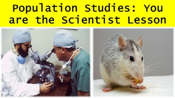Population Studies: You are the Scientist Lesson