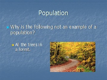 Populations and Communities Science Chapter