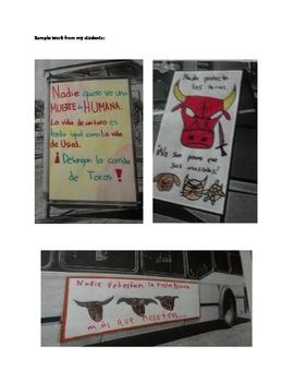 Por/contra la corrida de toros-For/against the Bullfight (