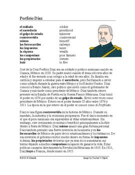 Porfirio Díaz Biografía ~ Spanish Biography of Porfirio Diaz