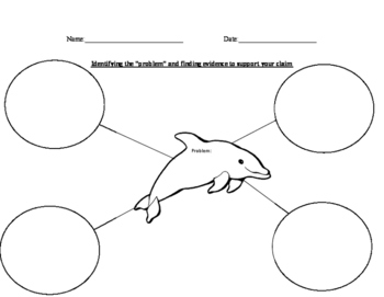 Porpoise in Peril problem and details Graphic organizer