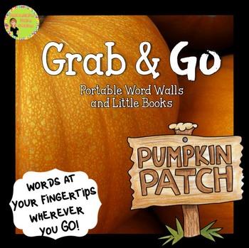 Pumpkins: Portable Word Wall and Little Books Pumpkin