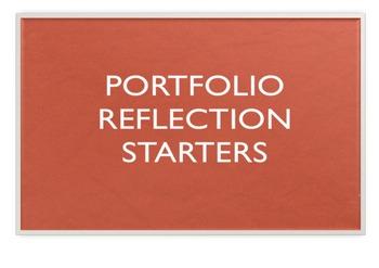 Portfolio Reflection Starters