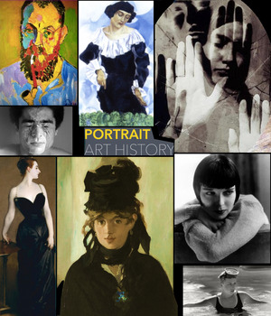 Portraits Art History ~ Painting Photography ~ FREE POSTER