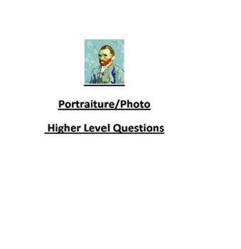 Portraiture/Photo Higher Level Questions