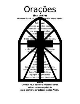 Portuguese Prayer Sheet