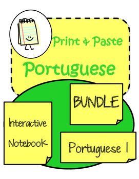 Portuguese Interactive Notebook