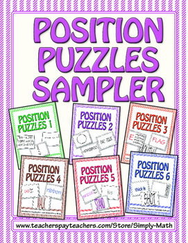 Position Puzzles Sampler FREEBIE