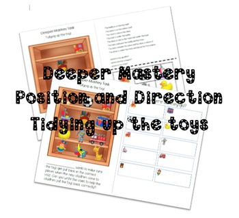 Position and Direction Toy Shelf