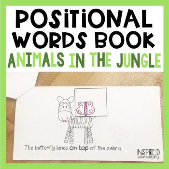Positional Words Book: Animals in the Jungle