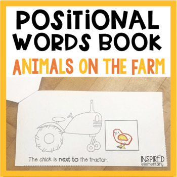 Positional Words Books: Animals on the Farm