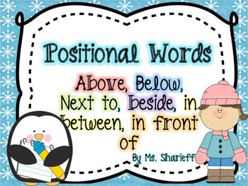 Positional Words For Preschool