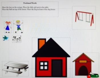 Positional words assessment
