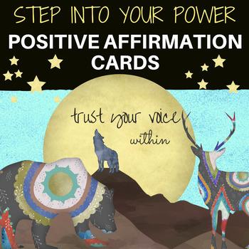 Positive Affirmation & Motivational Cards for Students & Teachers