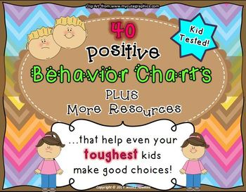 Positive Behavior Charts & Resources ~to reach even your t