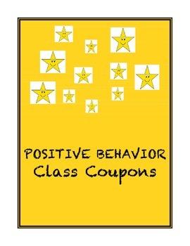 Positive Behavior Class Coupons
