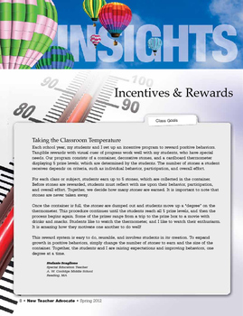 Positive Behavior Incentives