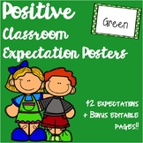 Positive Behaviour Expectation Posters: Includes over 40 p