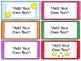 Classroom Rewards Coupons & Passes - editable!