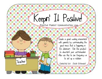 Positive Communication Log