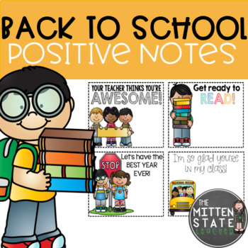 Positive Notes { Back to School }