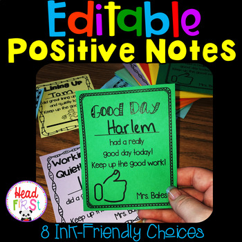 Positive Notes / Rewards