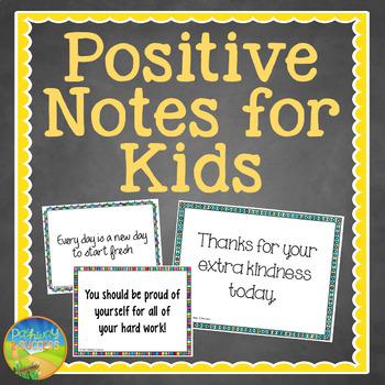 Positive Notes for Kids