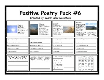 Positive Poetry Pack #6