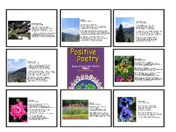 Positive Poetry PowerPoint Presentation #6