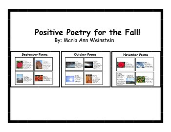 Positive Poetry for the Fall!