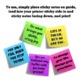 Positive, Printable Sticky Note Templates