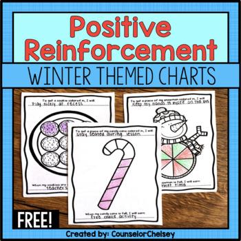 Positive Reinforcement/Reward Charts: Winter Themed - Free