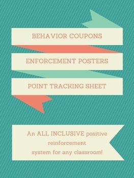 Positive Reinforcement System Freebie!!