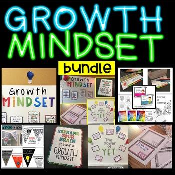 Growth Mindset Bundle for a Positive School Climate